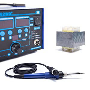 safe licensed certified rework soldering station with main power switch lead free esd safe