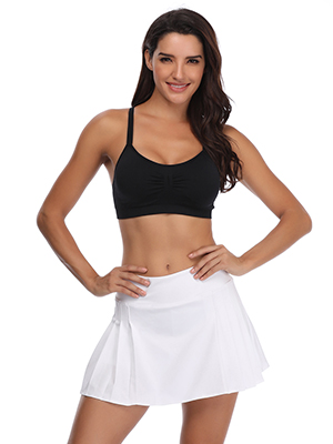 Tennis skirt with pockets