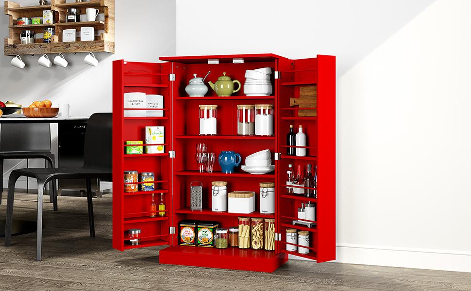 HOMEFORT Kitchen Pantry Cabinet