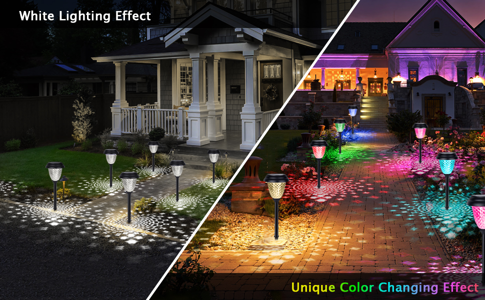 solar pathway light color changing2