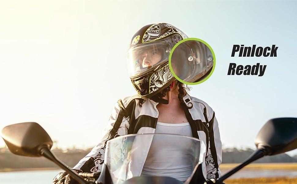 HAX Helmets PINLOCK
