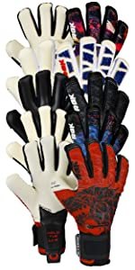 Renegade GK Rogue Series of Goalkeeper Gloves - Includes Guardian Quantum Outlaw Slash Hunter