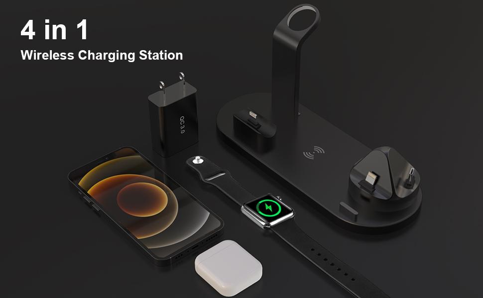 Pukonger wireless charging station