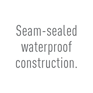 seam-sealed construction