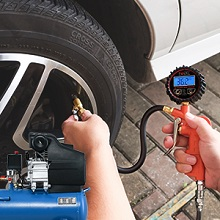 250 psi tire gauge for car truck motorcycle