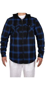 Mens Sherpa Lined Flannel Shirt Jacket