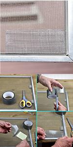 screen repair tape screen door mesh screens widow home fix tear hole