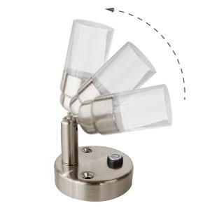 adjustable lighting direction