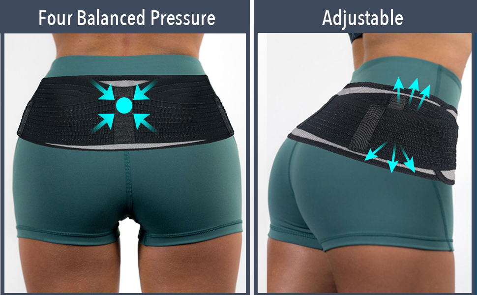 sciatica pain relief brace si joint belt for men back braces for lower back pain women hip support