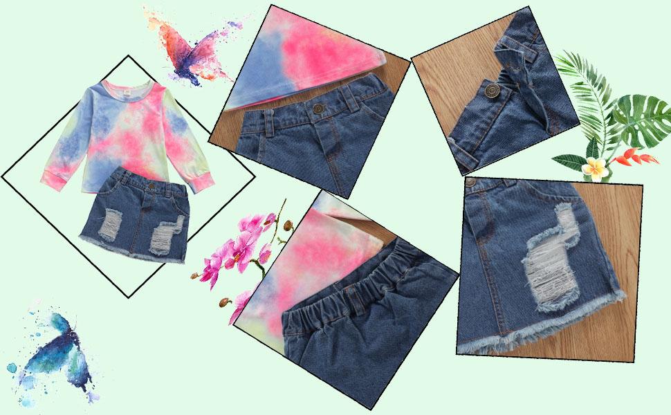 toddler jeans skirt 2t
