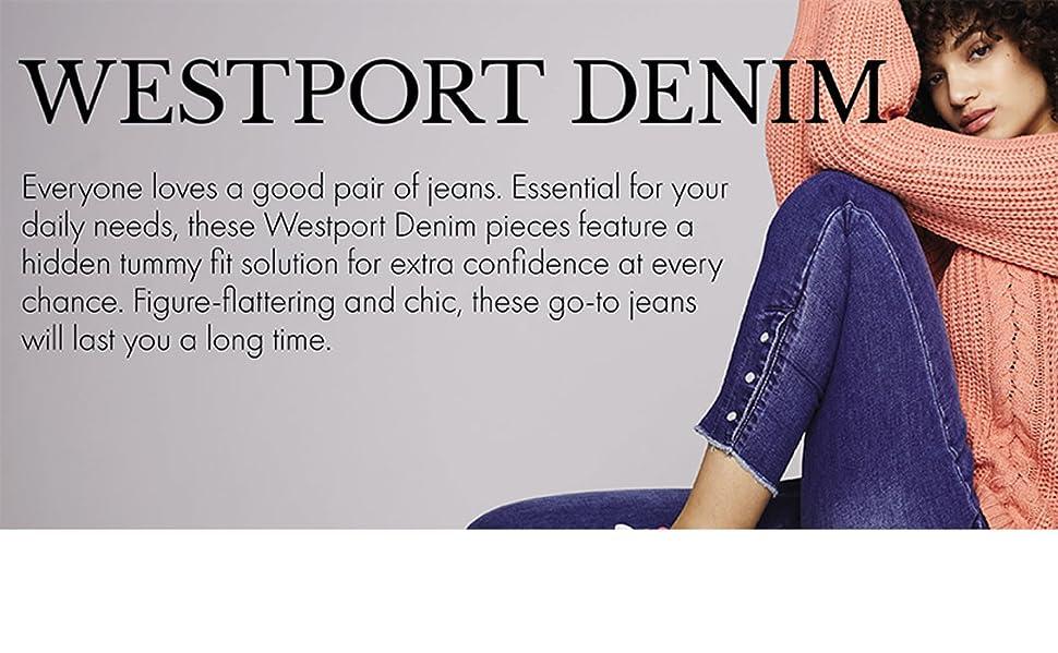 Dressbarn, Wesport Denim, Womens Jeans, jeans for women, womens skinny jeans