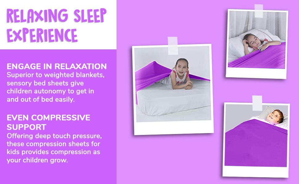 Sensory Bed Sheet for kids