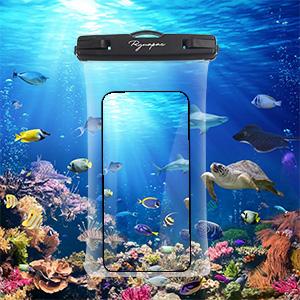 transparent phone bag waterproof