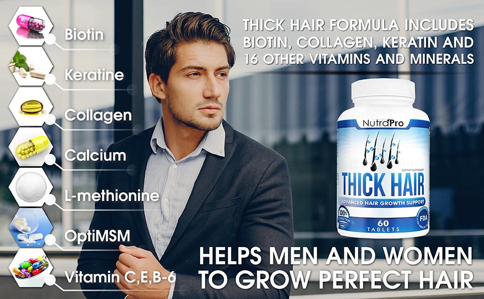 thick hair growth vitamins