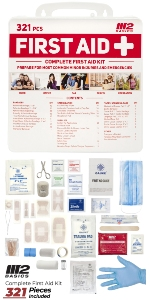 321 Piece First Aid kit
