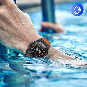 smart watch with waterproof