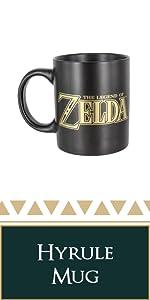 zelda hyrule mug