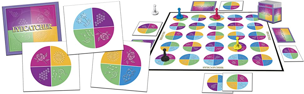 Eyecatcher Board Game Family Board Game Layout