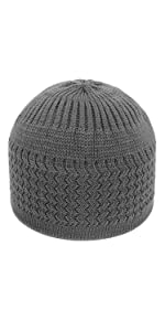 Stretchy Knit Kufi Hat For Men Woman Kufi Beanie