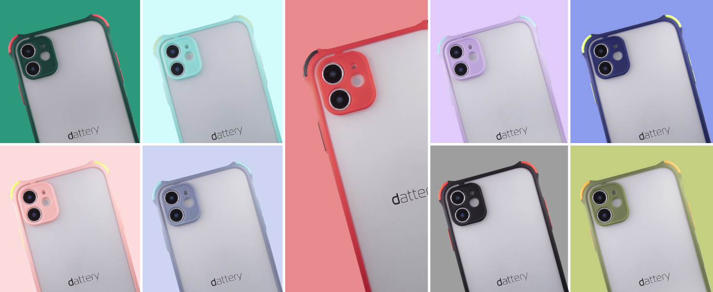 Dattery TPU Phone Cases Stylish Cases Colored Case Mate iPhone Valentine's Day Gift for Her Him Cute