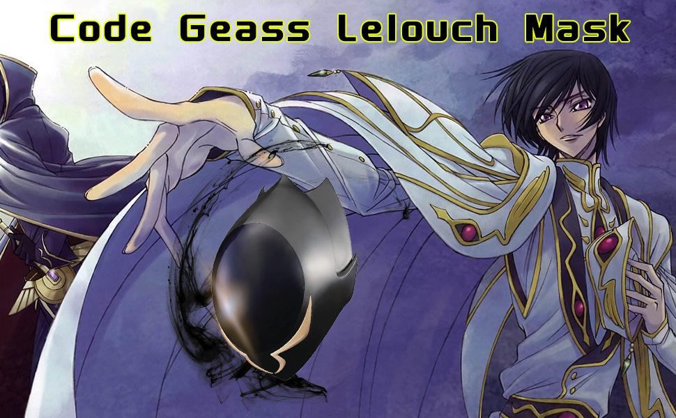 Code Geass Lelouch Mask