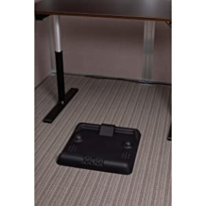 compact standing desk mat, anti fatigue mat, anti-fatigue standing desk mat, working from home
