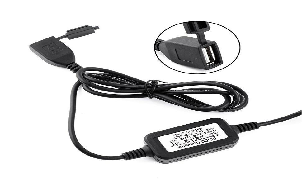 Keenso 5 V 2 A Wasserdichtes Usb Stromanschluss Ladegerät Für Motorräder Für Smartphone Tablet Gps Auto