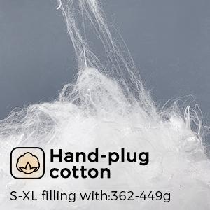 hand-plug cotton jacket mens