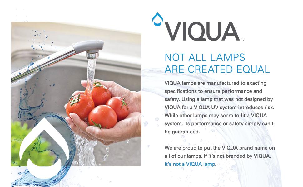 Viqua water filtration ultraviolet
