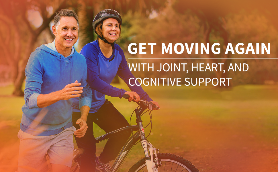 Get Moving Again with Joint Heart and Cognitive Support