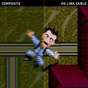 Sega Genesis HDMI link cable modern tv