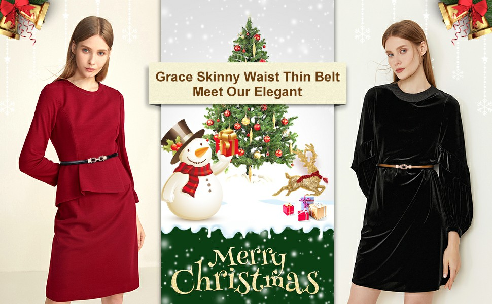 womens skinny elegant waist belt