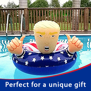 Donald Trump Float Fun Inflatable Swimming Floats For Pool Party Gif G3