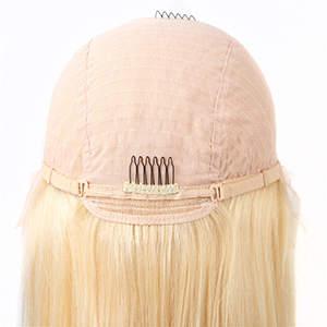 blonde lace front wig human hair
