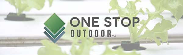 One Stop Outdoor Logo, Irrigation, Drippers, Drip, Emitter,