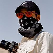 Face Mask Neck Gaiter Windproof Scarf Sunscreen Breathable Bandana Balaclava for Sportamp;Outdoor