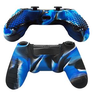 6amLifestyle Funda Protectora Antideslizante de Silicona para Mando PS4, Carcasa para Sony PS4 / PS4 Pro / PS4 Slim Controller (Rojo + Azul 2 Fundas de Mando PS4 + 14 Thumb Grips PS4): Amazon.es: Electrónica