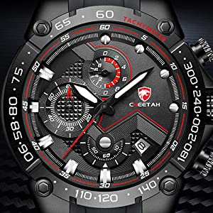 men's watches in red