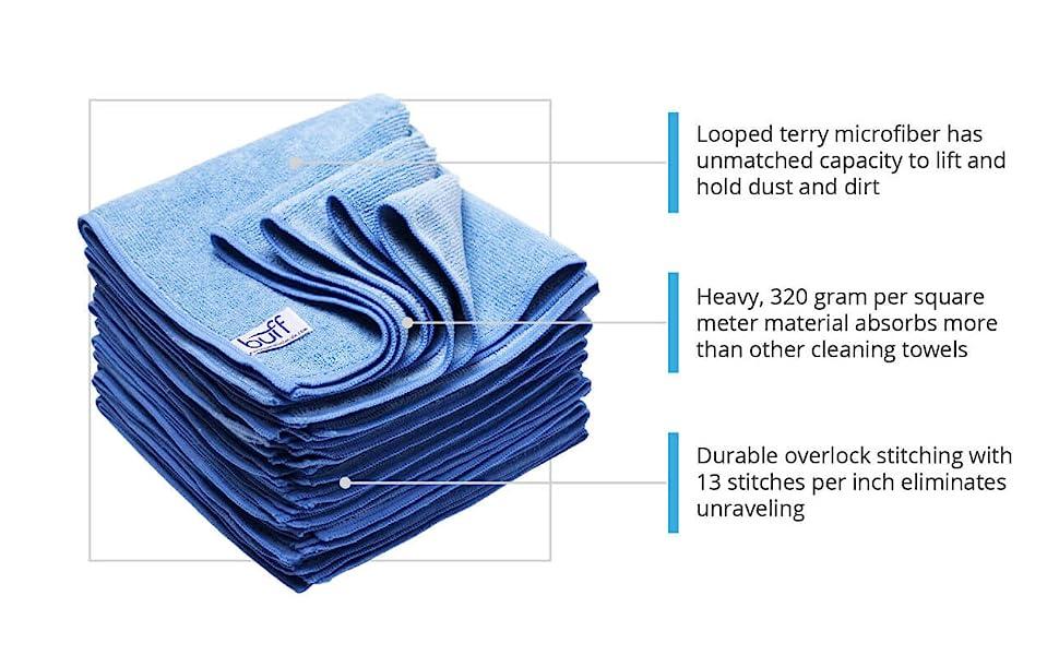 12 x 12 Microfiber Cloths