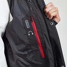 zipper pockets