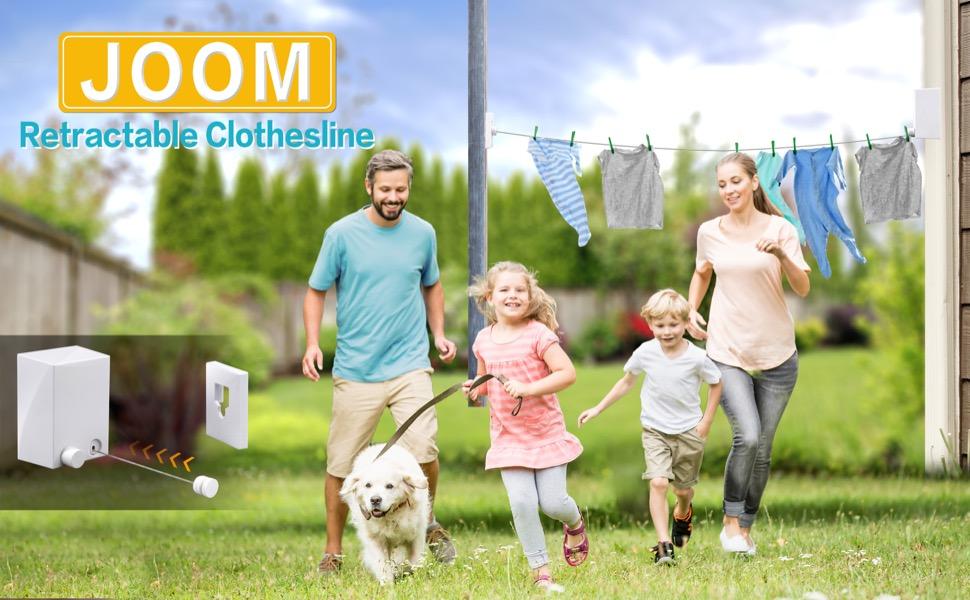 JOOM retractable clothesline