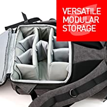 versatile modular storage Thermopadded modular dividers allow for ultimate customization and