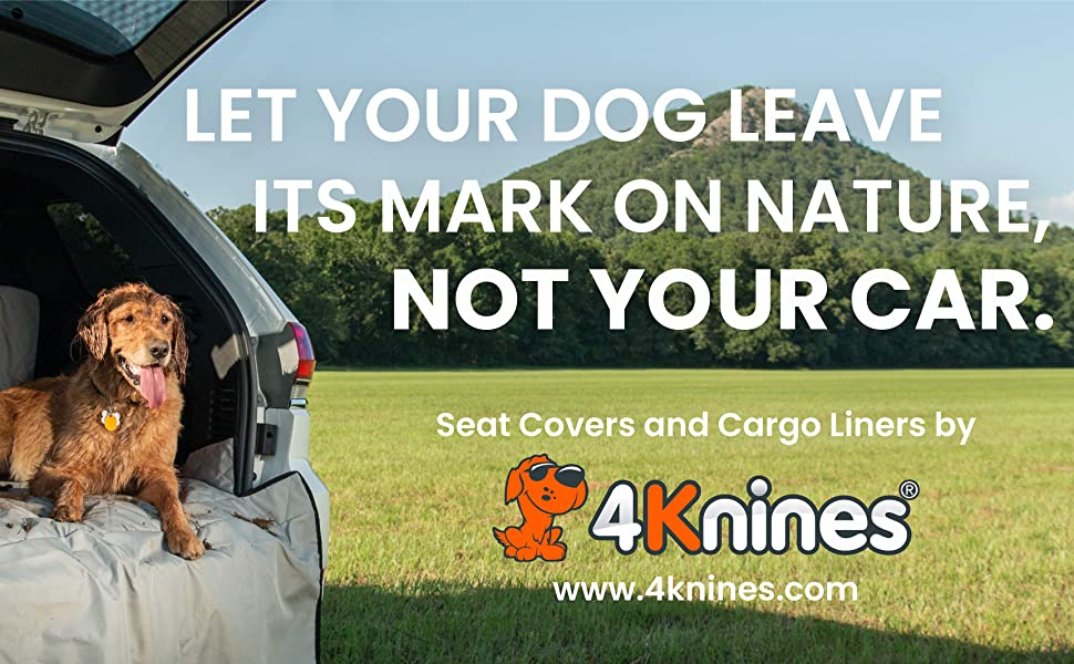 4Knines dog seat cover cargo liner pet suv