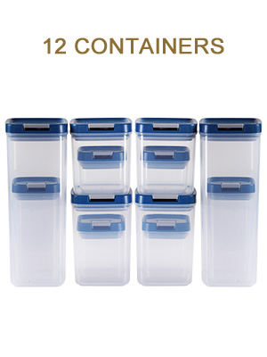 Airtight Food Storage Container with Lids