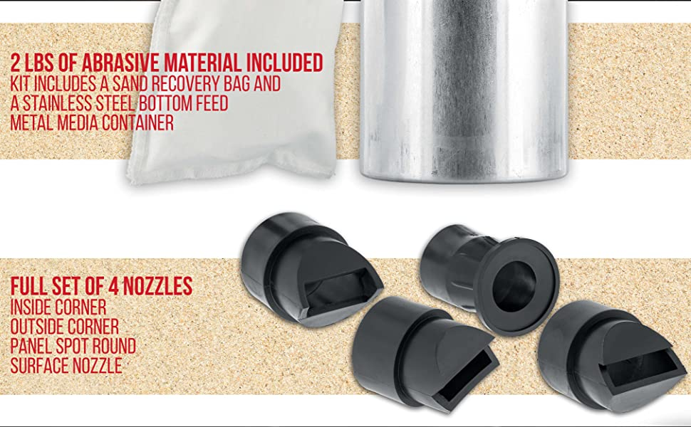 Material Bag and Nozzle set