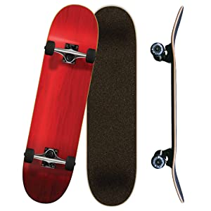Yocaher, complete, skateboard, 7.75, Black, Blue, red, green, purple, white, skateboards patinetas