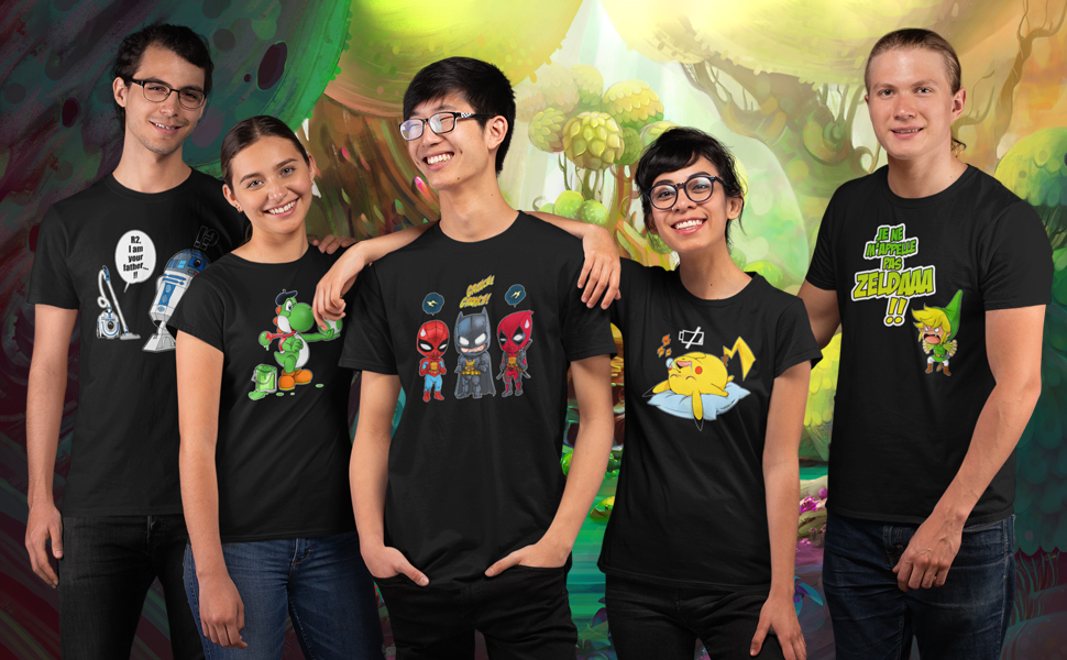 Okiwoki T-Shirts Noir Parodie Dragon Ball Z - DBZ Dragon Ball Z DBZ parodique Sangoku Super Saiyajin : La Th/éorie de l/évolution : French Days