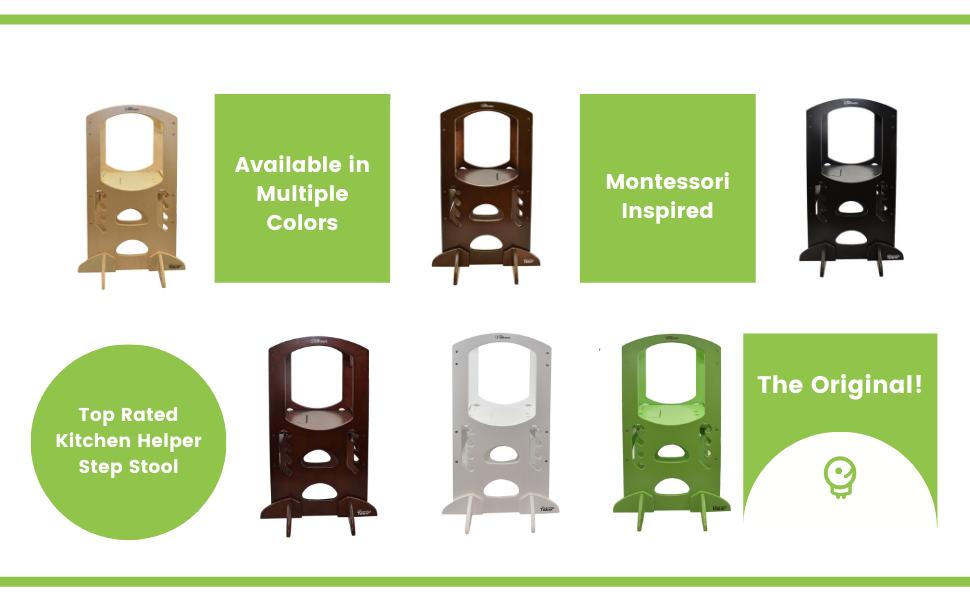 Little Partners Learning Tower, Kitchen Helper, Kitchen Step Stool