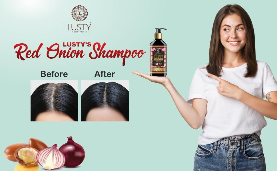 Lusty Red Onion Shampoo