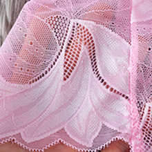Flower pattern,soft and breathable Lace material